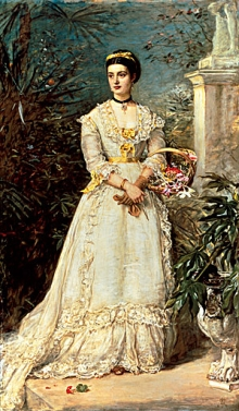 John Everett Millais, The Marchioness of Huntly, 1870, tratto da: http://hoocher.com/John_Everett_Millais/John_Everett_Millais.htm